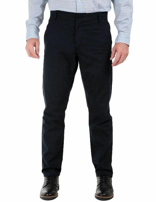 Pantalón casual Regent Street corte slim algodón 3905d65d60