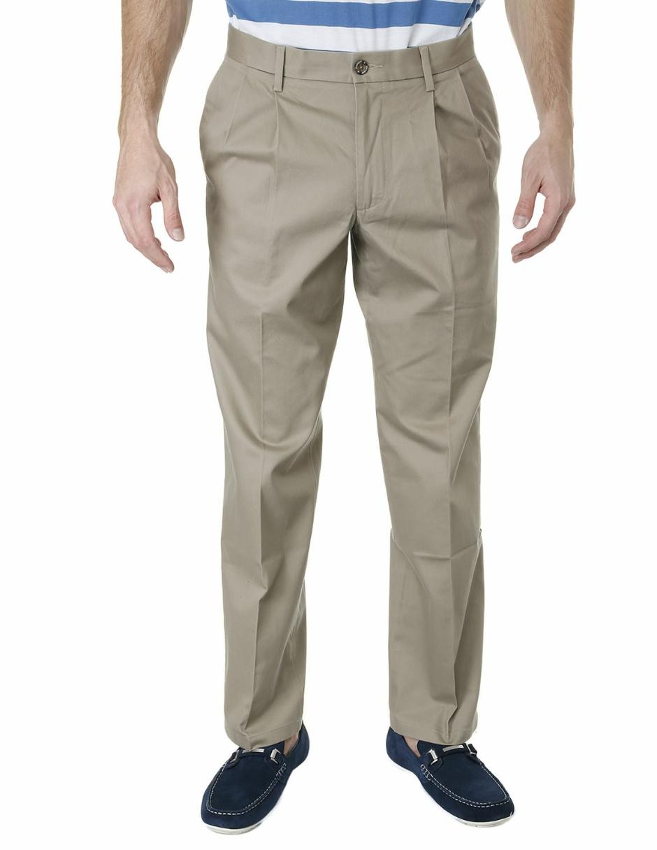 ff6cb85b9 Pantalón de vestir Dockers corte recto algodón khaki Precio Lista