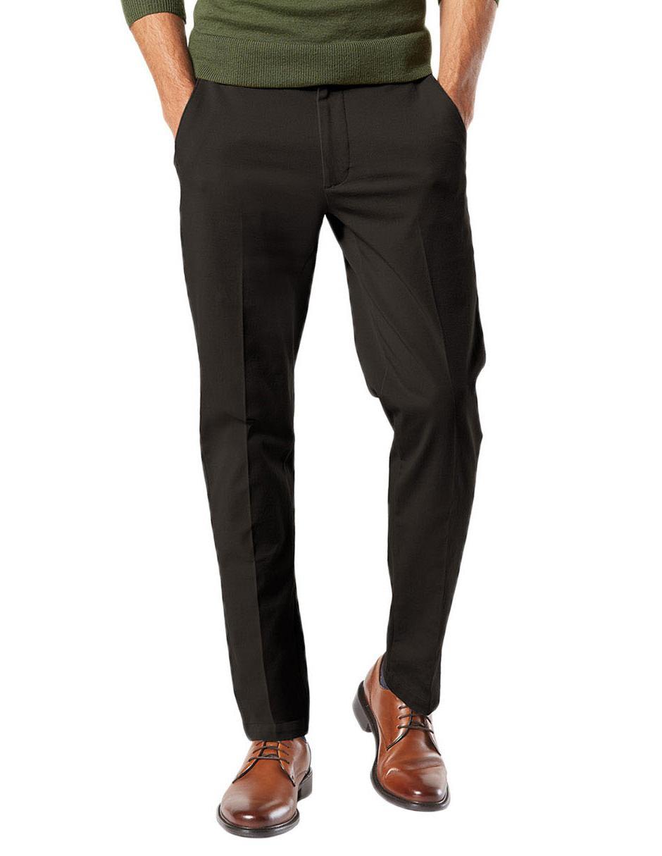 Pantalon De Vestir Dockers Smart 360 Flex Corte Slim Fit Negro En Liverpool